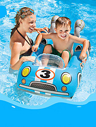 cheap -Inflatable Pool Float Donut Pool Float Swim Rings Inflatable Pool Plastic Summer Police Pool Kid's Adults'