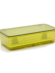 cheap -High Quality with Plastics Storage Boxes Everyday Use / Cooking Utensils Kitchen Storage 1 pcs