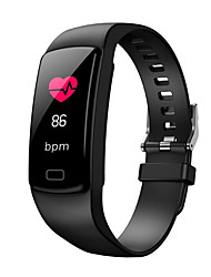cheap -Y9 Smart Band Heart Rate Tracker Smart Bracelet Blood Pressure Blood Oxygen Sport Calorie Calculation IOS Android