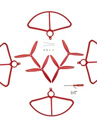 cheap -HUANQI Holy Stone HS700 1 set Propeller Guards / Propellers RC Quadcopters RC Quadcopters ABS+PC Removable / Easy to Install / Durable