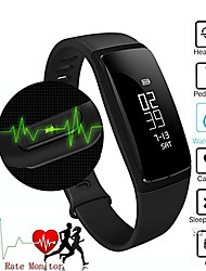 cheap -VN03 Smart Band Wristband Heart Rate Blood Pressure Pedomet Bracelet Fitness SMS Alert For iOS Android Phone