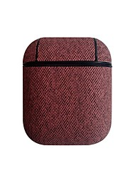cheap -For Airpods Protective Case Wireless Bluetooth Headset Box Charging Bag Leather Earphone Cover Shell For Airpods For Iphone