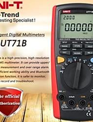 abordables -unimptut ut71b multimètre numérique intelligent multimètre vrai rms usb / bluetooth transmission de données test de température de rétroéclairage double
