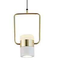 cheap -2-Light 15 cm Pendant Light Metal Acrylic Electroplated Painted Finishes Modern Nordic Style 110-120V 220-240V