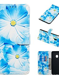cheap -Case For Samsung Galaxy A20e / A7(2018) Magnetic / Flip / with Stand Full Body Cases Flower / Marble Hard PU Leather for Galaxy A9(2018)/A10/A30/20A/A40/A70/A9 2018/A3 2016/A5 2017/A3 2017/A5 2016
