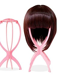 cheap -Wig Accessories Plastics Wig Stands Pins Convenient Storage 1 pcs Daily Stylish Pink