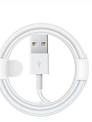 cheap -Lightning Cable 2.0m(6.5Ft) Normal TPE USB Cable Adapter For iPhone