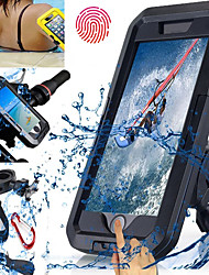 cheap -Bike Phone Mount Touch Screen Waterproof High Impact for Swimming Diving Motorcycle ABS iPhone X iPhone 8 8 Plus iPhone 6 plus Cycling Bicycle Black