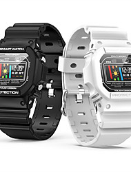 cheap -Smartwatch Digital Modern Style Sporty Silicone 30 m Water Resistant / Waterproof Heart Rate Monitor Bluetooth Digital Casual Outdoor - Black White