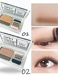 cheap -2 Colors Eyeshadow Cosmetic EyeShadow Dressing up Normal Fashionable Design Color Gradient Easy Carrying Durable lasting Daily Makeup Halloween Makeup Party Makeup Cosmetic Gift