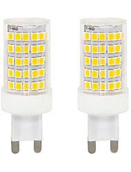 cheap -2pcs 10 W LED Bi-pin Lights 300 lm G9 T 86 LED Beads SMD 2835 Warm White White 220-240 V