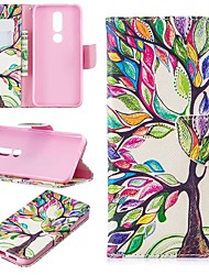 cheap -Case For Nokia 4.2/Nokia 3.2 Magnetic / Flip / with Stand Full Body Cases Tree Hard PU Leather for Nokia 1 Plus/Nokia 2/Nokia 2.1/Nokia 3.1/Nokia 5.1/Nokia 7.1/Nokia 8/Nokia 6