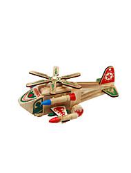 Недорогие -Игрушечные самолеты Вертолет Ручная работа деревянный Детские Все Игрушки Подарок