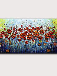 cheap -Oil Painting Hand Painted - Famous Landscape Modern Rolled Canvas