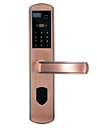 cheap -805-2 Stainless Steel Intelligent Lock Smart Home Security System RFID / Fingerprint unlocking / Password unlocking Home / Office Security Door / Copper Door / Wooden Door (Unlocking Mode Fingerprint