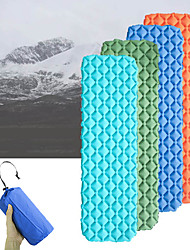 cheap -Inflatable Sleeping Pad Camping Pad Air Pad Outdoor Camping Portable Lightweight Moistureproof TPU Nylon 195*58 cm Camping / Hiking / Caving Traveling Outdoor for 1 person Autumn / Fall Spring Summer