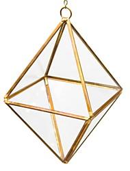 Недорогие -Декоративные объекты, Стекло Металл Современный современный для Украшение дома Дары 2pcs