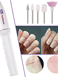 cheap -Fashion 5 in 1 Electric Nail Art Care Manicure Nail Drill Buffing File Pen Tool Grinder Grooming