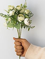 Недорогие -Искусственные цветы Недвижимость сенсорный Современный современный нерегулярный Букеты на стол нерегулярный 1