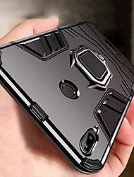 cheap -Armor Ring Stand Case For Xiaomi Redmi Note 7 Note 7 Pro Shockproof Case Cover Redmi 7 Note 6 Pro Note 6 Note 5 Pro Redmi Note 5 Redmi 6 Pro Redmi 6 Redmi 5 Plus Soft Silicone TPU Car Holder Case