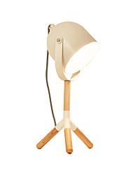 abordables -lumière de table en métal fer de bureau luminaires modernes éclairage de lecture simple pour tête de chambre rotatif lumière de bureau