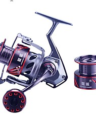 cheap -Fishing Reel Spinning Reel 5.21 Gear Ratio+10 Ball Bearings Hand Orientation Exchangable Sea Fishing / Freshwater Fishing / Carp Fishing