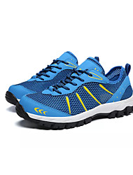 cheap -Men's Comfort Shoes PU Summer Athletic Shoes Walking Shoes Brown / Blue / Gray