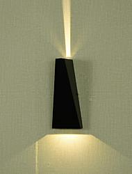 cheap -Matte / Creative Modern Contemporary Outdoor Wall Lights Outdoor Metal Wall Light IP65 220-240V 3 W