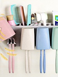 cheap -Toothbrush Mug Storage Modern Contemporary PP tools Toothbrush & Accessories