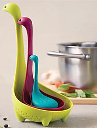 Недорогие -пластик Инструменты Фильтры Цедилка Инструменты Творческая кухня Гаджет Милый Кухонная утварь Инструменты Многофункциональный Для приготовления пищи Посуда Необычные гаджеты для кухни 1шт