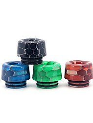 cheap -YUHETEC 810 Universal Mushroom Resin Drip Tip for TFV8 Big Baby/TFV12 Prince/Griffin 25/ijust 3/ELLO Duro/Pharaoh Mini/ammit 25/Creed RTA Atomizer