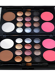 cheap -12 Colors Eyeshadow Eyeshadow Palette Matte Shimmer Cosmetic Blush EyeShadow Fashionable Design Easy to Carry lasting Long Lasting Casual / Daily Daily Makeup Party Makeup Cosmetic Gift