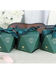 Недорогие -Необычные Картон Фавор держатель с Ленты Подарочные коробки - 50 шт
