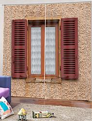 Недорогие -Горячие продажи турецкие шторы сильная прочность толстые водонепроницаемые полиэфирные шторы для ванной тепло / звукоизоляция плотные шторы ткань для гостиной / гостиной