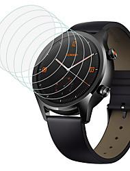 Недорогие -защитная пленка для ticwatch c2 / e2 / s2 закаленное стекло прозрачное высокое разрешение (hd) царапинам / твердость 9 ч