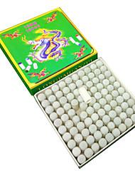 cheap -Billiards & Pool Snooker English Billiards Pool Carom Billiards Nine-Ball Plastic Professional Wear Proof White  100pcs Billiard club head cover 10mm