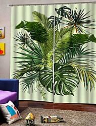 Недорогие -Пасторальный стиль высокой четкости несмываемые тканевые шторы гостиная / комната для переговоров утолщенные полные шторы для гостиной водонепроницаемые влагостойкие занавески для душа