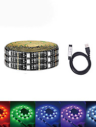 cheap -5m Light Sets 150 LEDs SMD5050 RGB USB / Party / Self-adhesive 5 V / USB Powered 1 set