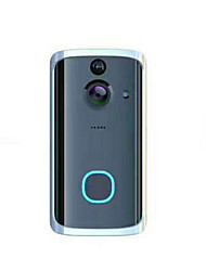 cheap -1.3 million high-definition WIFI smart super power-saving doorbell mobile remote voice intercom home mobile alarm
