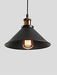 abordables -luminaire suspendu vintage 1 abat-jour en métal salon salle à manger couloir diamètre diamètre 26cm