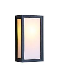 Недорогие -бра настенные светильники новый дизайн современный простой скрытый настенный светильник / наружный настенный светильник сад / наружный алюминиевый настенный светильник ip 65