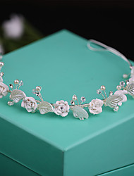 cheap -Alloy Tiaras with Faux Pearl / Pearls 1 Piece Wedding / Special Occasion Headpiece