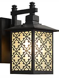cheap -Ecolight 1pc 5 W Outdoor Wall Lights Waterproof / Creative / New Design Warm White 220-240 V / 110-120 V Outdoor Lighting / Courtyard / Garden 5 LED Beads