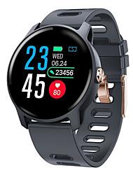 Недорогие -S08 смарт-часы S08 IP68 фитнес-трекер монитор сердечного ритма шагомер водонепроницаемый SmartWatch для Android IOS телефон