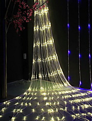 cheap -6*4m String Lights Outdoor String Lights 864 LEDs Warm White Decorative 220-240 V 1 set