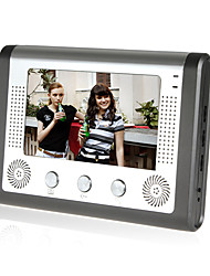 cheap -Wired 7 inch Hands-free 800*480 Pixel video doorphone Indoor Unit 1 Monitor