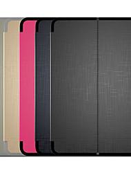 Недорогие -Кейс для Назначение Apple iPad 4/3/2 / iPad Mini 3/2/1 / iPad Mini 4 Магнитный Чехол Однотонный Твердый Кожа PU / ТПУ