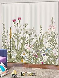 abordables -moderne pastorale décor à la maison impression uv non toxique rideau antifouling imperméable boutique antipoussière