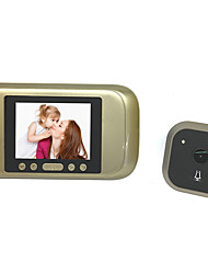 cheap -Factory OEM Wireless ≤3 inch Hands-free One to One video doorphone