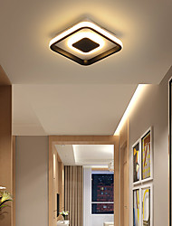 cheap -1-Light 20 cm LED Flush Mount Lights Metal Acrylic Linear Painted Finishes LED / Modern 110-120V / 220-240V